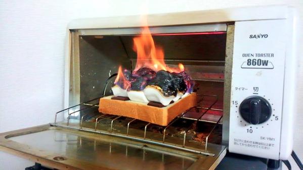 マシュマロトースト大炎上