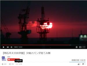 夕焼けパンダ9