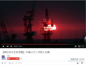 夕焼けパンダ8