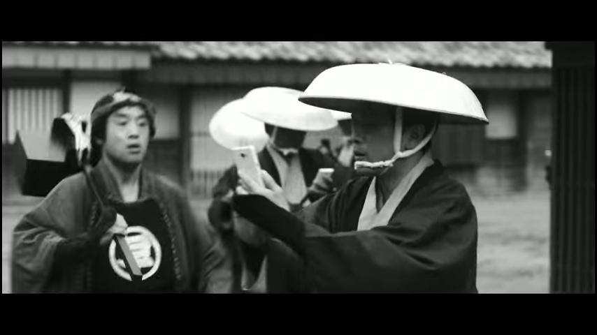 ドコモ「歩きスマホ」江戸時代 (9)