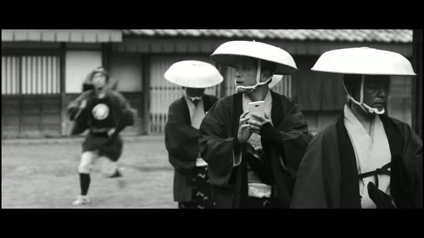 ドコモ「歩きスマホ」江戸時代 (8)