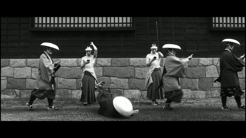 ドコモ「歩きスマホ」江戸時代 (19)
