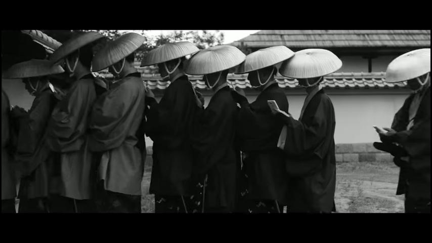 ドコモ「歩きスマホ」江戸時代 (32)
