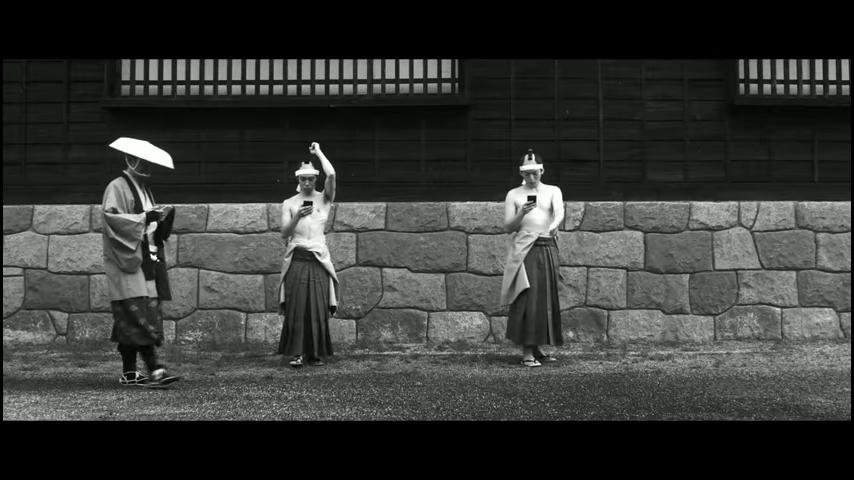 ドコモ「歩きスマホ」江戸時代 (17)