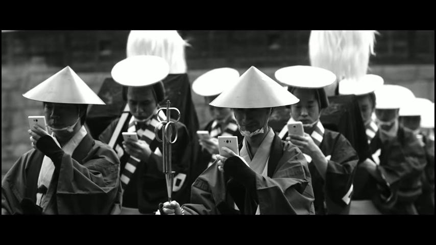 ドコモ「歩きスマホ」江戸時代 (1)