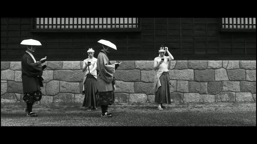 ドコモ「歩きスマホ」江戸時代 (18)