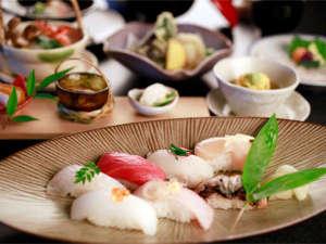 季がさねの寿司会席
