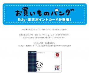 お買いものパンダ楽天ポイントワンダフル10
