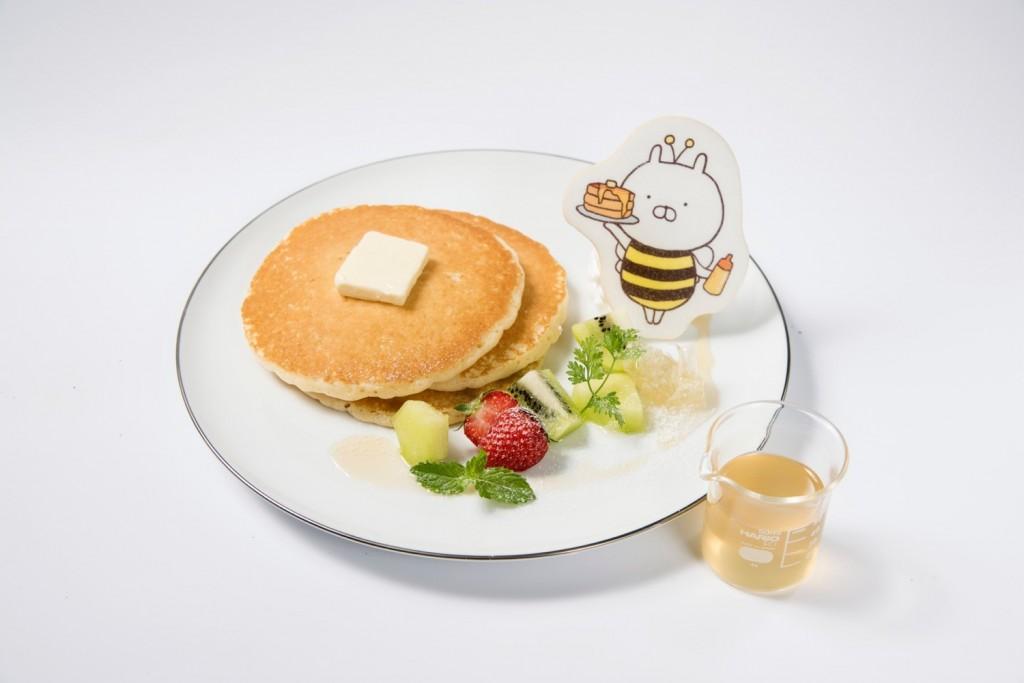 うさまるカフェパンケーキ
