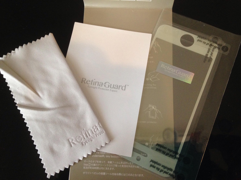 RetinaGuard iPhone6保護フィルム